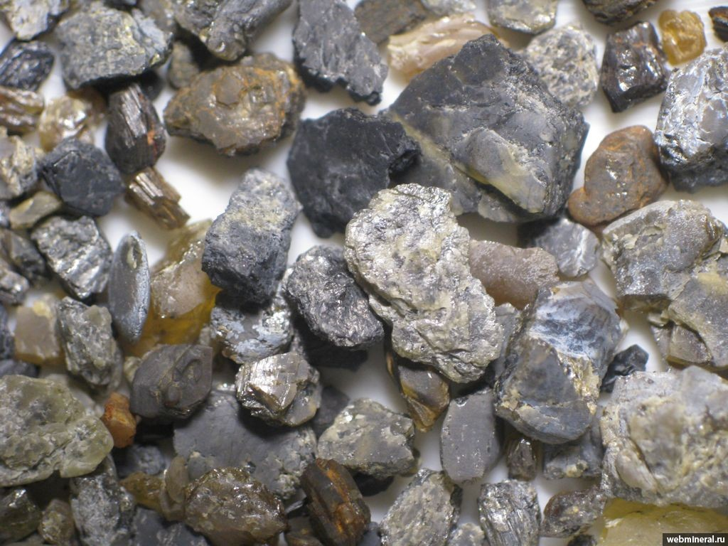 импактные алмазы фото
